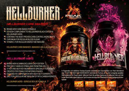 Hellburner Ladies Carb katalóg oldal design