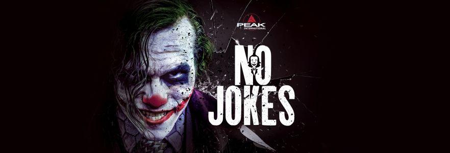 No-Jokes-label-design-a