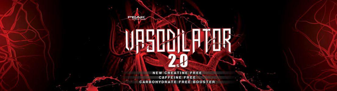 Vasodilator 2.0 címke design